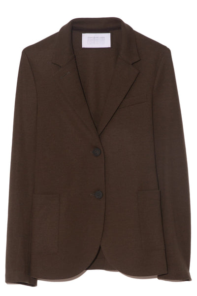 Superfine Merino Boyfriend Blazer in Moss Green