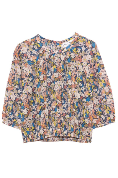 Rosemarie Top in Night Arte Floral