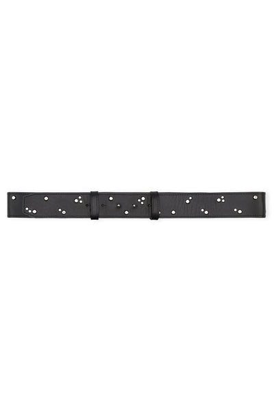 Studded Belt in Black