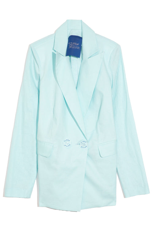 Galen Blazer in Sky Blue
