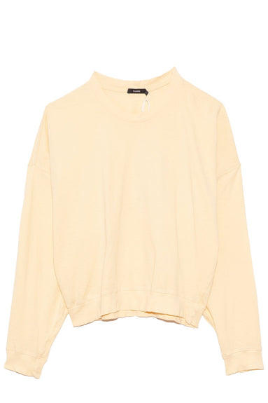 Midweight Batwing Jersey Sweatshirt in Pigment Yellow