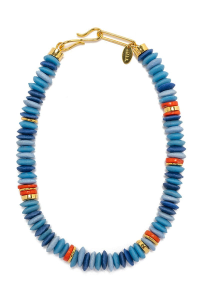 Laguna Necklace in Denim