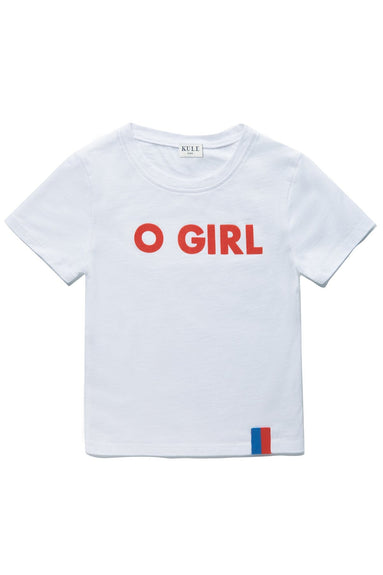 Kids The Charley O Girl Top in White
