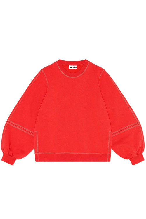 Software Isoli Sweatshirt in Flame Scarlet