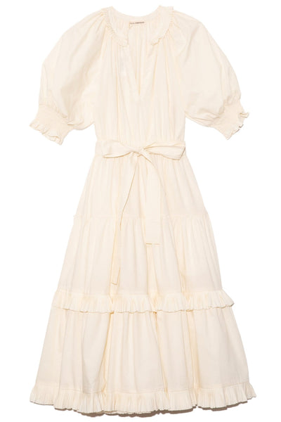 Dasha Dress in Blanc