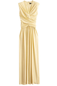 Guciene Dress in Light Yellow