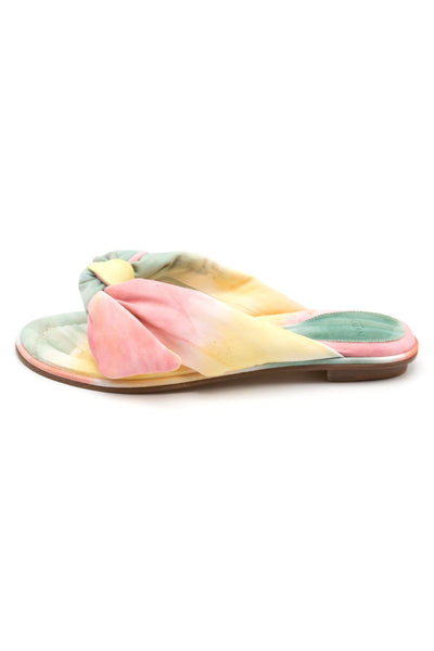 Soft Clarita Flat in Washed Tie Dye