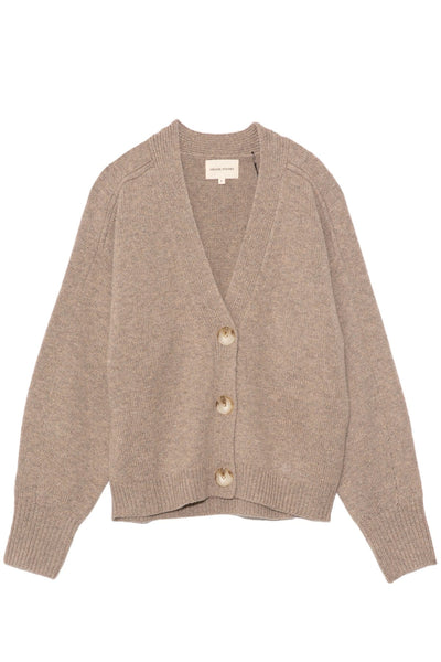 Zanzibar Cardigan in Brown Melange