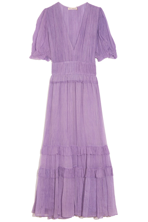 Elodie Dress in Lavender