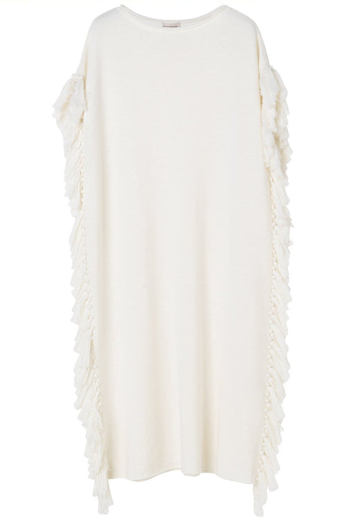 Nardia Dress in Soft White