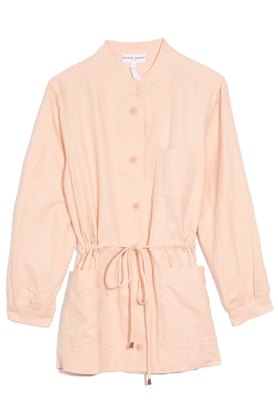 Nueva Aragon Jacket in Blush