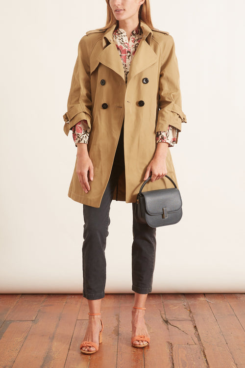 Sporty Sophistication Jacket in Bronze Beige