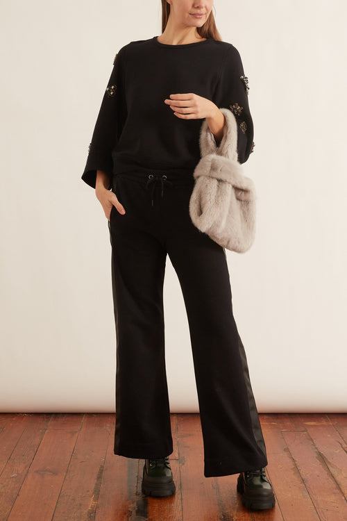 Casual Coolness Pants in Pure Black