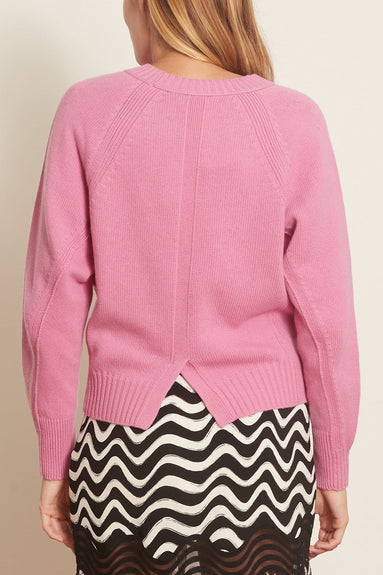 Desirable Volumes Pullover in Milky Fuschsia