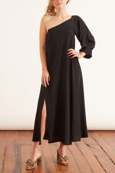Fluid Volumes Dress in Pure Black