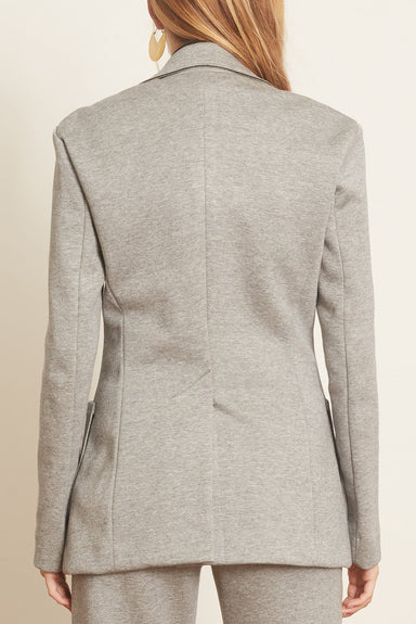 Minimalistic Charm Jacket in Dark Grey Melange