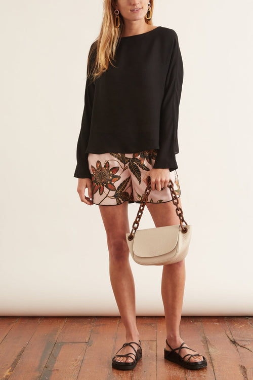 Powerful Flora Shorts in Rose Passiflora