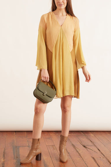 Summer Heat Dress in Beige/Khaki