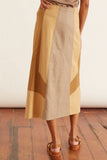 Summer Mix Skirt in Golden Sand