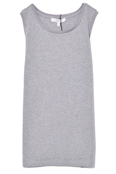 Casual Softness Top in Grey Melange