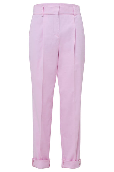 Contemporary Coolness High Waisted Pants in Cherryblossom Rose