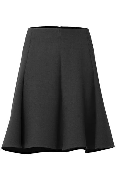 Oppulent Appearance Skirt in Pure Black