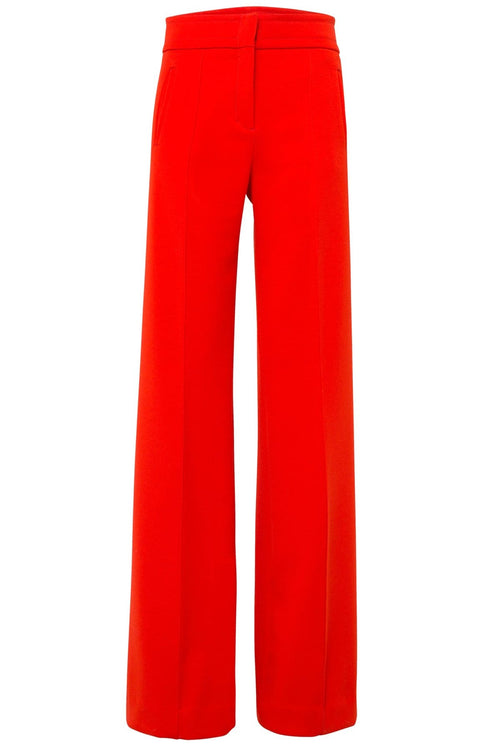 Sophisticated Perfection Highwaisted Pants in Japanese Red