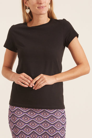 Casual Softness Shirt in Pure Black