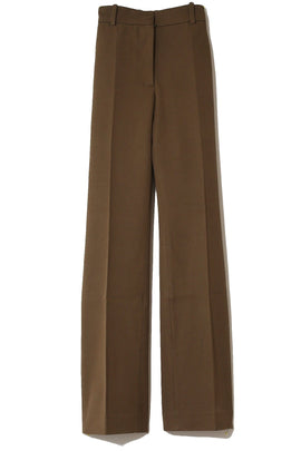 Gabardine Coleman Trousers in Khaki