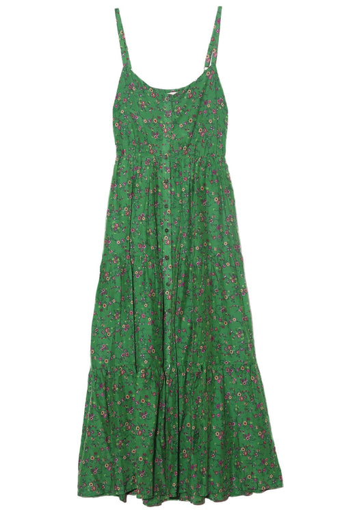 Sophie Dress in Green Grass