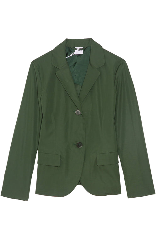 Classic Shrunken Jacket in Green