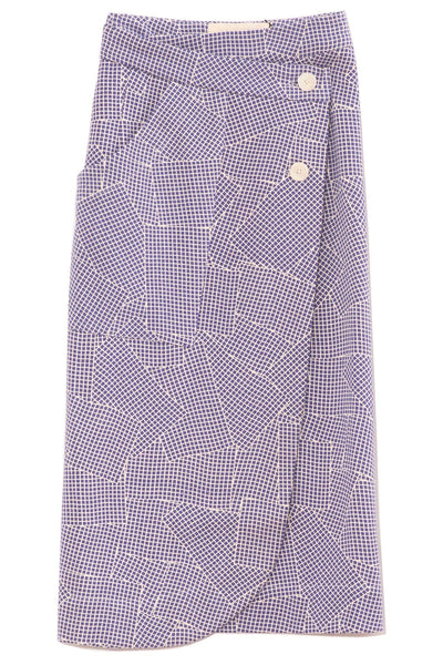 Fiche Bristol Skirt in Ink Blue