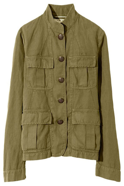 Cambre Jacket in Uniform Green
