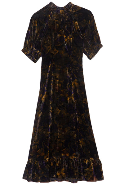 Dogwood Dropped Shoulder Dress in Multi