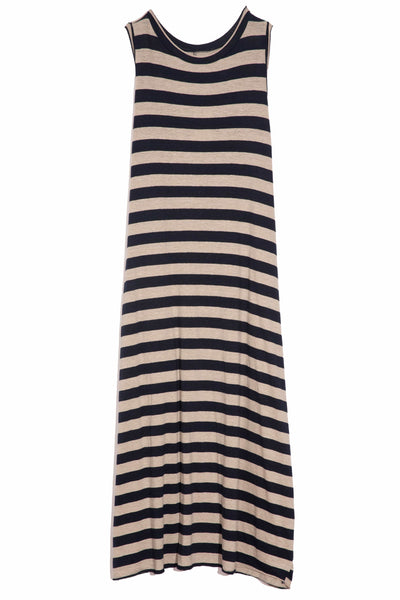Happy Dress in Beige/Atlantic