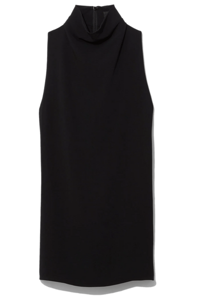 Cady Sleeveless Knotted Back Top in Black
