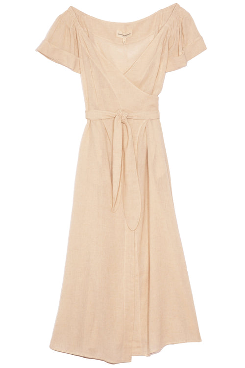Adelina Dress in Sand