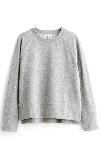 Raglan Sweatshirt in Heather Grey