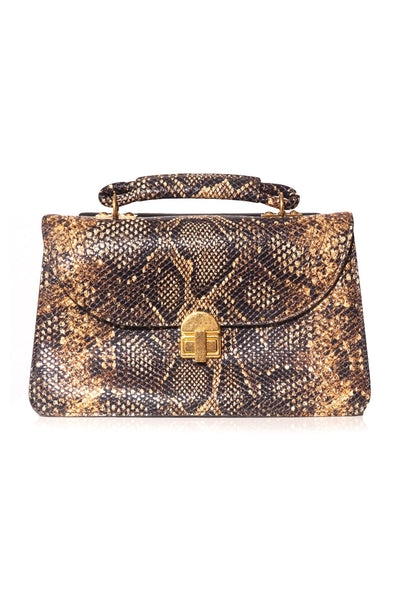 Juliette Large Handbag in Python