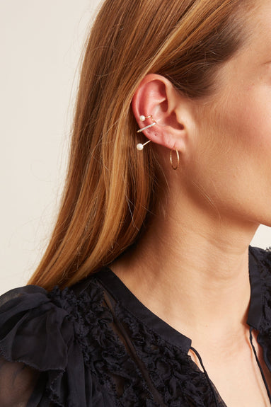 Skyrush Earcuff in Yellow Gold (Right)