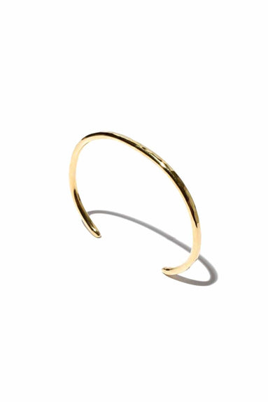 Sidra Thin Cuff in 14k Vermeil