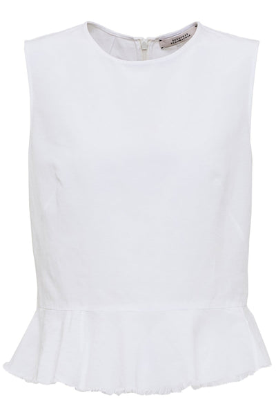 High Summer Ease Top in Pure White