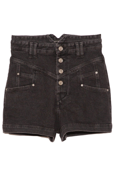 Diroysr Show Stretch Denim Short in Faded Night