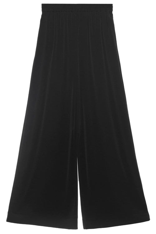 Wide Leg Palazzo Pant in Black
