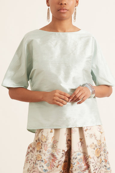 Flirty Top in Mint