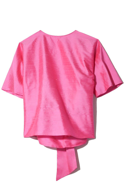 Flirty Top in Pink Sugar
