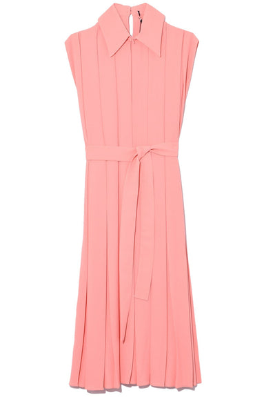 Evanthe Dress in Coral