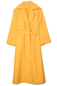 Leia Coat in Yellow