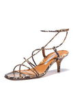 Tobias Sandal in Multi Snakeprint