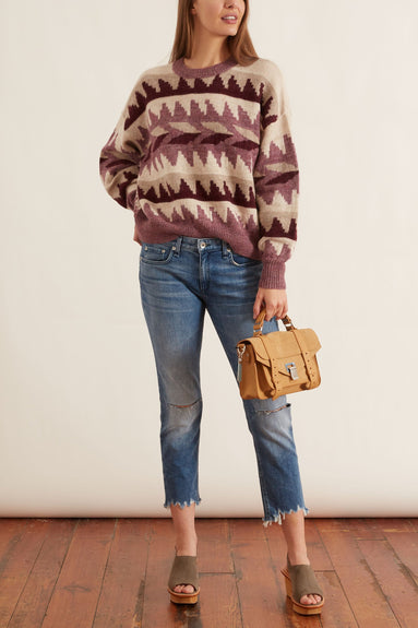 Gatsy Sweater in Rosewood